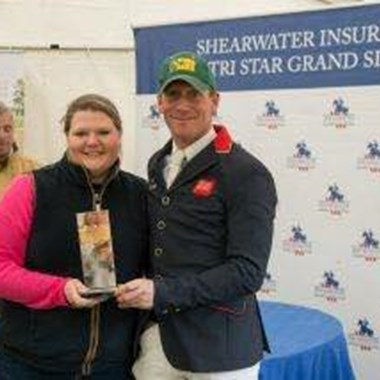 Sarah skillin and Oliver Townend shearwater insurance
